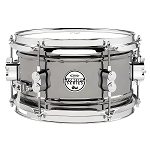 DW PDP Concept Series 6x10 Black Nickel Over Steel Snare Drum