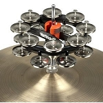 Rhythm Tech Double Hat Trick G2 Nickel Hi-Hat Mounted Tambourine