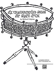 Six Unaccompanied Solos for Snare Drum - Michael Colgrass