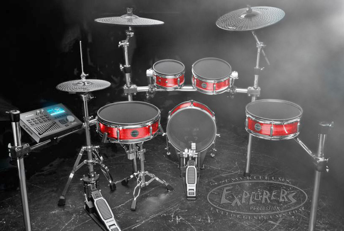 alesis strike zone series 8 piece electronic drum set. Black Bedroom Furniture Sets. Home Design Ideas