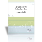 Style Suite for Solo Snare Drum - Murray Houllif