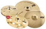 Sabian HHX Evolution Promotional 4 Piece Box Cymbal Set w/ FREE 18