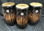 Latin Percussion LP Limited Edition 55th Anniversary Quinto, Conga, Tumba Set - Candy Black Fade