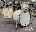 PDP Limited Edition Concept Maple Classic 3pc Twisted Ivory Shell Pack Drum Kit