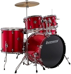 Ludwig Accent Drive Outfit 5 Piece Complete Drum Set w/ Hardware & Cymbals