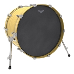 Remo Ambassador Black Suede Bass Drum Head
