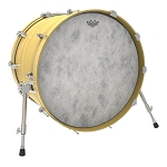 Remo Ambassador Fiberskyn Batter & Resonant Bass Drum Head