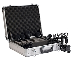 Audix 7-piece Fusion Drum Microphone Package w/ D-Vice Clamps & Hard Shell Case