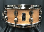 Mapex Snare Drum Black Panther Design Lab 6x14 Heartbreaker 8 Ply Mahogany Shell - Natural Satin