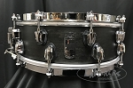 Mapex Snare Drum Black Panther Design Lab 5x14 Maple Shell in Transparent Black SAS Finish