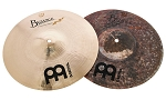 Meinl Byzance Brilliant Serpents Hi Hat Cymbal Pair - Derek Roddy Signature