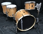Mapex Drum Set Black Panther Design Lab 4 Piece Cherry Bomb Shell Pack in Natural Satin
