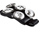 Meinl Cajon Foot Tambourine with 5 Pairs of Steel Jingles & Adjustable Strap