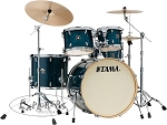 Tama Drum Set Super Star Classic Exotix 5 Piece Maple Shell Pack in Gloss Sapphire Lacebark Pine