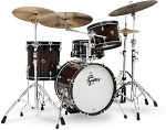 Gretsch Drum Set Catalina Special Edition 4 Piece Walnut/Maple Shell Pack in Walnut Burst