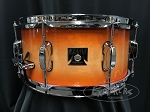 Tama Snare Drum Superstar 6.5x14 Maple Shell in Tangerine Lacquer Burst