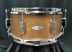 C&C Custom Snare Drum 6.5x14 Steel 1.5mm Shell in Copper Finish