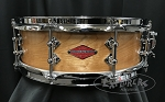 Craviotto Snare Drum Custom Private Reserve 4.5x14 Old Groves Birch Shell w/ 45 Edges - Oil Finish