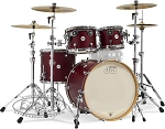 DW Drum Set Design Series 5 Piece Maple Shell Pack in Deep Cherry