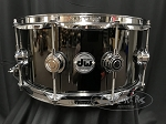 DW Snare Drum Collector's Series 6.5x14 Black Nickel Over Brass Shell w/ Chrome Hardware - B Stock