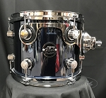 DW Add On Tom Performance Series 8x10 Maple Shell in Chrome Shadow