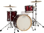 DW Drum Set Design Series Special Edition 3 Piece Maple Shell Pack
