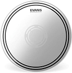 Evans EC Reverse Dot Frosted 2 Ply Snare Batter Drum Head