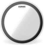 Evans EMAD Heavyweight Clear 2 Ply Batter Bass Drum Head