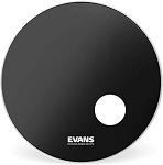 Evans EQ3 Resonant Onyx Frosted Single Ply Bass Drum Head