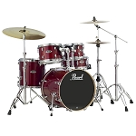 Pearl Export Lacquer Euro Sized Drum Set