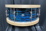 Snare drum pair of wood hoops for 14