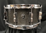 Ludwig Snare Drum USA Classic Oak Series 6.5x14 Oak / Maple Shell in Smoke Finish