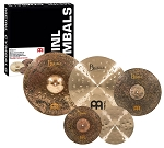 Meinl Byzance Mike Johnston Complete Cymbal Set w/ FREE 18