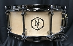 Noble & Cooley Custom Snare Drum 6x14 Horizon Series Maple Shell in Satin Finish w/ Black Chrome Hardware