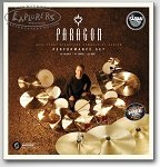 Sabian Paragon Neil Peart Perfomance 4 Piece Cymbal Set
