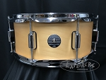 PDP Snare Drum Spectrum 6.5x14 Maple / Poplar Shell in Natural Matte Lacquer