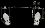 DW PDP 700 Series Double Bass Drum Pedal PDDP712