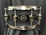 PDP Snare Drum Limited Edition 20th Anniversary 6.5x14 Maple Shell in Matte-Meets-Gloss Black