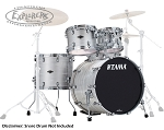 Tama Drum Set Starclassic Performer 4 Piece Birch/Bubinga Shell Pack in Lacquered White Oyster