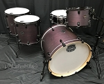 Mapex Drum Set Armory Series 5 Piece Rock Shell Pack 1 Up 2 Down Configuration - Purple Haze