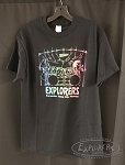 Explorers Percussion Retro Rainbow Drum Set T-Shirt