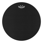 Remo Black Max Marching Batter Snare Drum Head - with Mylar Underlay