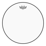 Remo Ambassador Clear Marching Snare Side Drum Head - Low Collar