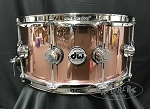 DW Snare Drum Collector's Series 6.5x14 VLT 333 Maple Shell in Rose Copper Finish Ply
