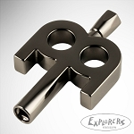 Meinl Kinetic Drum Key - Black Nickel Plated