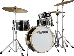 Yamaha Drum Set Stage Custom Hip 4 Piece 100% Birch Shell Pack in Raven Black
