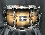 Odery Snare Drum Eyedentity 7x12 All Birch Shell in Tiger Black Burst