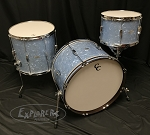 C&C Custom Drum Set Player Date 2 Big Beat 3 Piece 7 Ply Map/Mah/Map in Sky Blue Pearl - 22,13,16