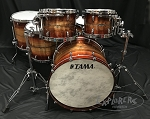 Tama Drum Set Limited Edition STAR 6 Piece Bubinga Blackwood Shell Pack in Red Blackwood Burst