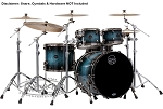 Mapex Drum Set Saturn V MH Exotic Rock 4-Piece Maple/Walnut Shell Pack in Deep Water Maple Burl